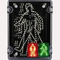 Deegee IPN/022 24DC LED Walking/Standing Pedestrian Signal: IPN/DC/24/LED/002/R/G
